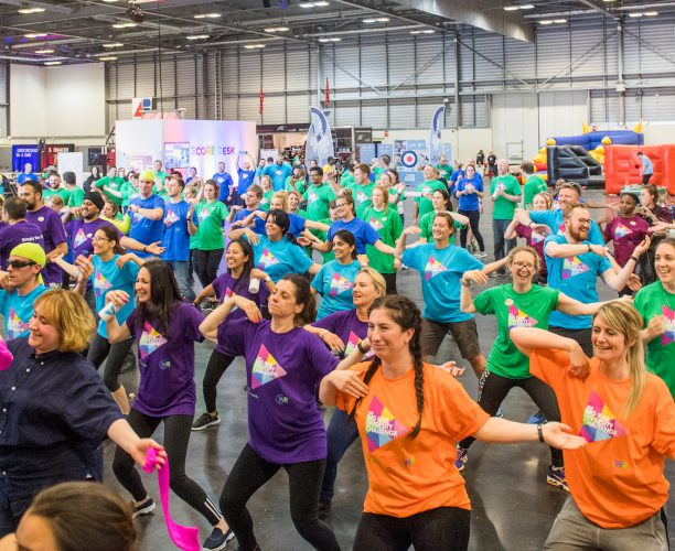 Big Rail Diversity Challenge 2017 Group Zumba