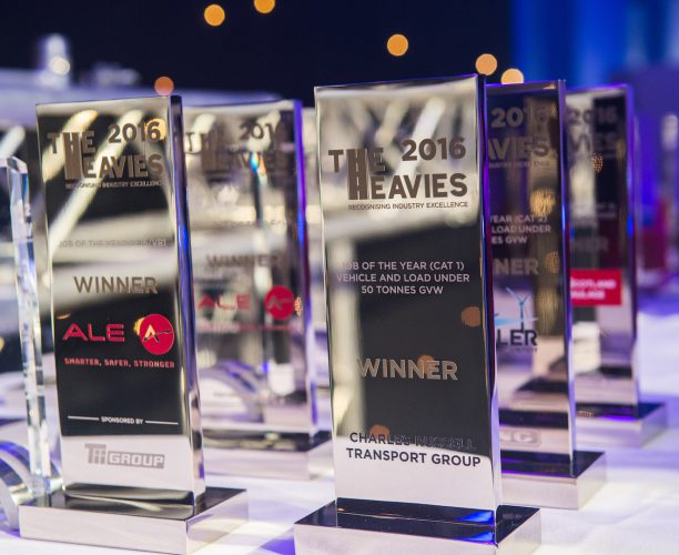 Awards at The Heavies Awards, launched by Nimble Media