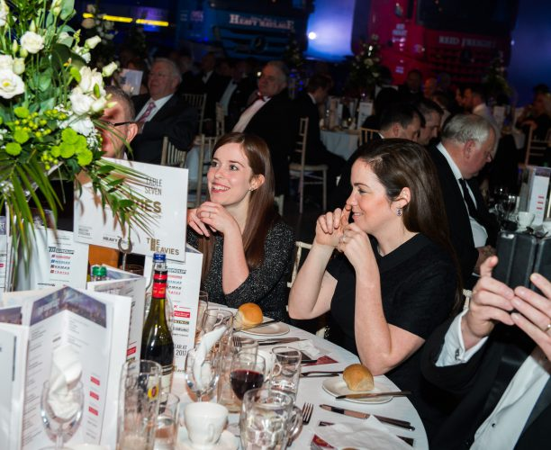 Guests at The Heavies Awards, launched by Nimble Media
