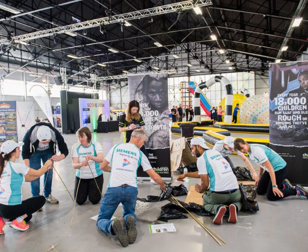 Railway Children Shelter Building at Big Rail Diversity Challenge 2016