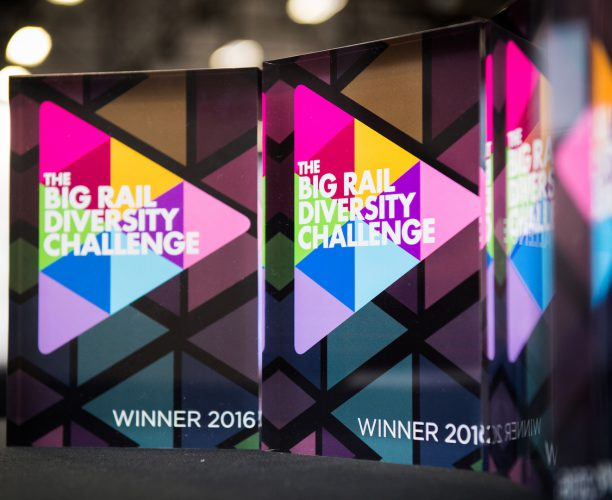 Awards at Big Rail Diversity Challenge 2016.