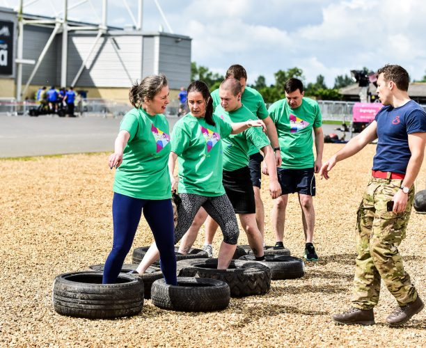Army Obstacle Course at Big Rail Diversity Challenge 2017