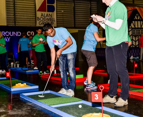 Crazy Golf at Big Rail Diversity Challenge 2017