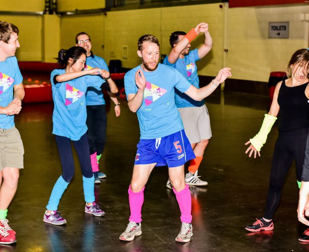 Zumba at Big Rail Diversity Challenge 2017