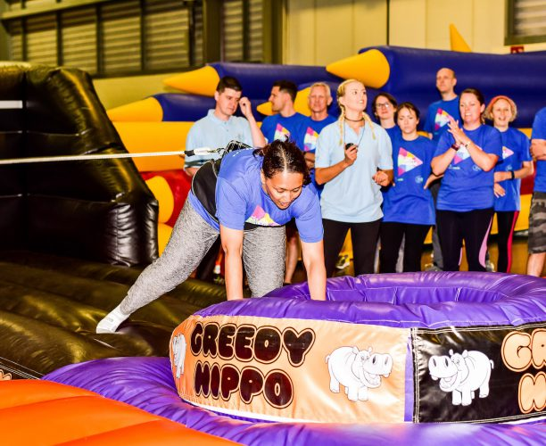 Hungry Hippos at Big Rail Diversity Challenge 2017