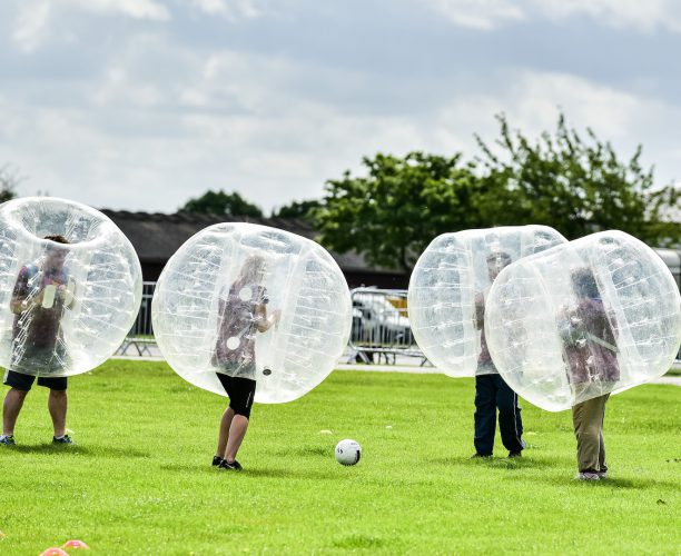 Bubble Football at Big Rail Diversity Challenge 2017