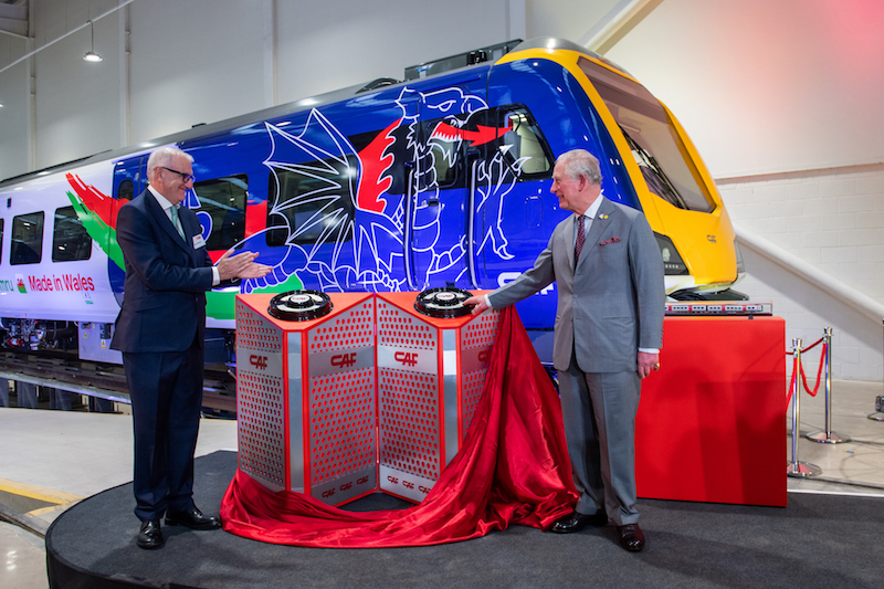 HRH Prince of Wales officially opened the CF depot in Newport, South Wales.