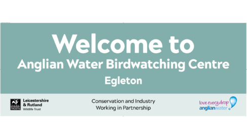 Anglian Water Nature Reserve - Welcome Sign