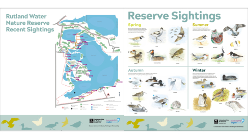 Anglian Water Nature Reserve - Information Boards