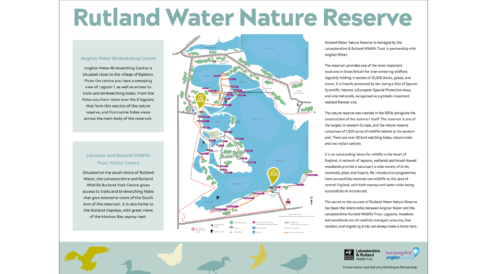 Anglian Water Nature Reserve - Nature Reserve Map